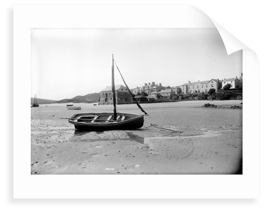 Rock, Cornwall at low tide by National Maritime Museum