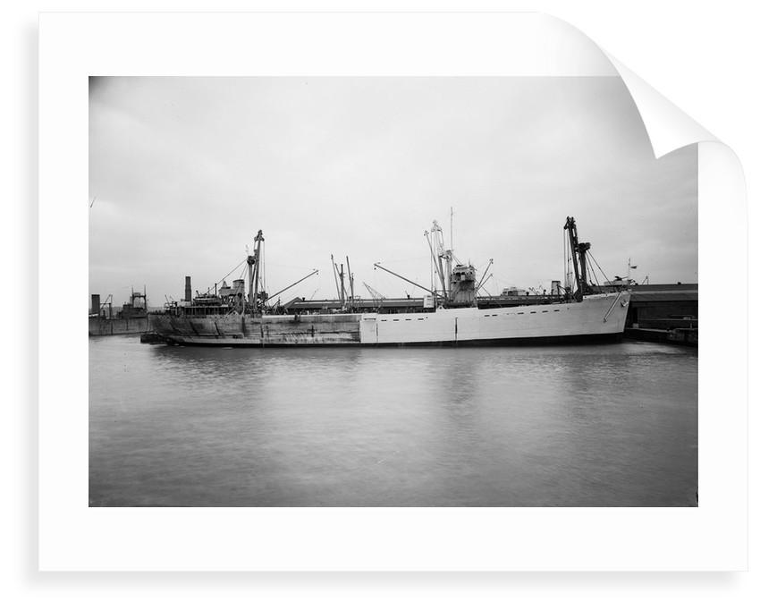'Empire Elaine' (1942), lying at quayside prior to 17 May 1943 by unknown