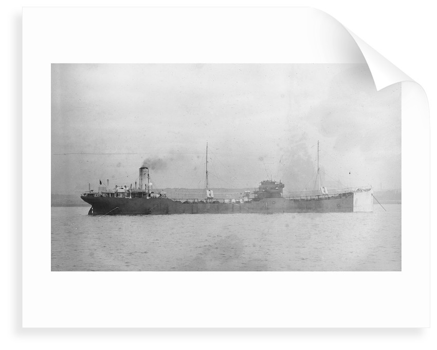 'Meline' (No, 1918) in the River Mersey by unknown