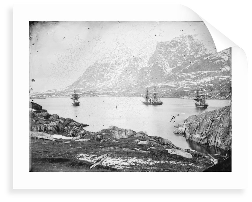 The ships of Inglefield by Edward Augustus Inglefield