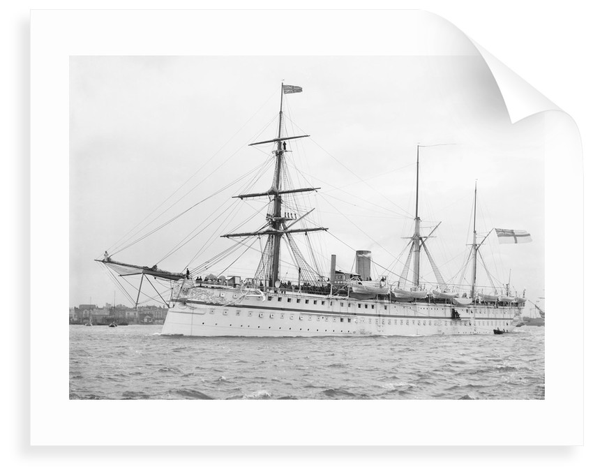 HMS 'Crocodile' (1867), Indian troopship by unknown