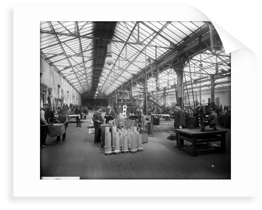 Sheet Iron Shop at John Brown & Co. Ltd, Clydebank, 1901 by Bedford Lemere & Co.