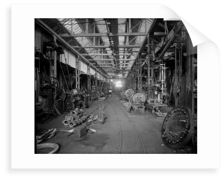 Shipyard Engineers' Shop at John Brown & Co. Ltd, Clydebank, 1901 by Bedford Lemere & Co.