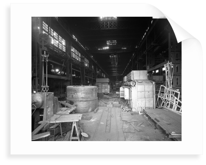 Boiler Works at John Brown & Co. Ltd, Clydebank, 1901 by Bedford Lemere & Co.