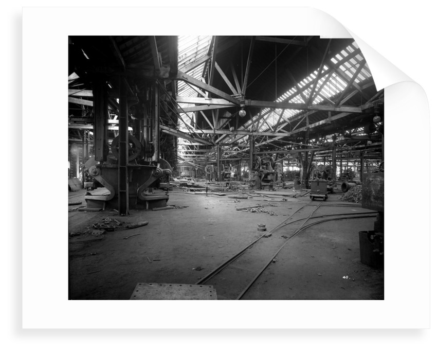 Platers' Machine Shed at John Brown & Co. Ltd, Clydebank, 1901 by Bedford Lemere & Co.