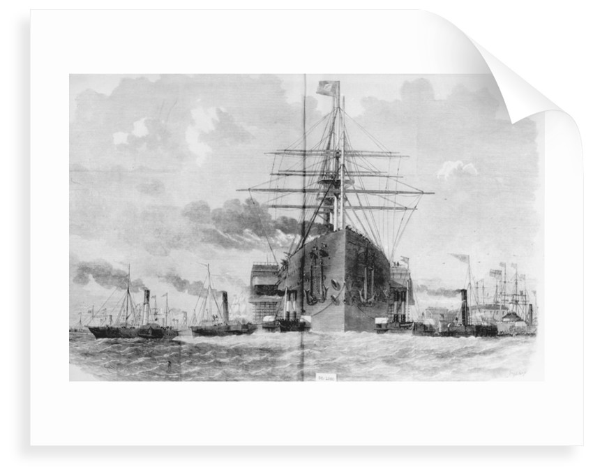 Brunel's 'Great Eastern' (1858) rounding Blackwall Point, 1859 by unknown