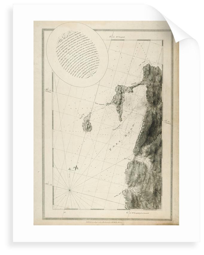 Chart of Port Hood, 1776 by Joseph Frederick Wallet Des Barres