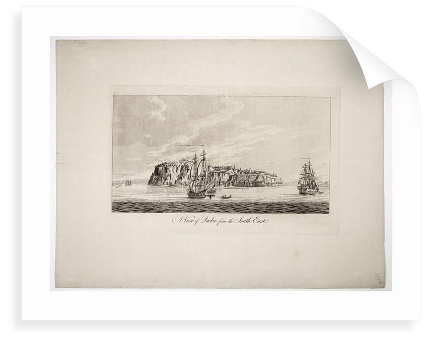 A view of Quebec from the south east by J. F. W. Des Barres