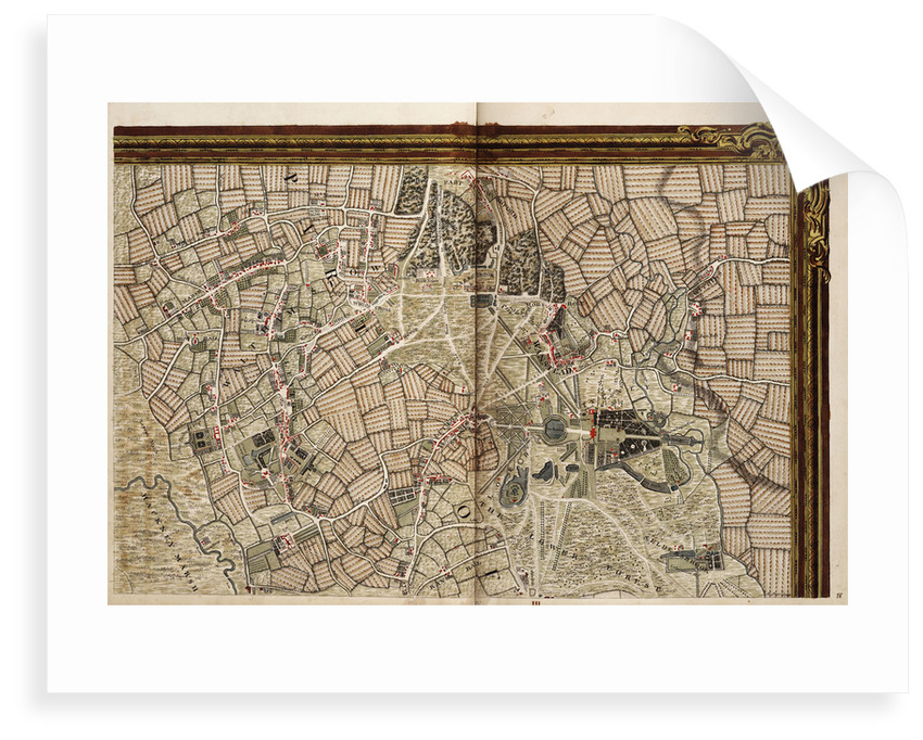 Map of Hackney, Waltham and Wanstead by John Rocque