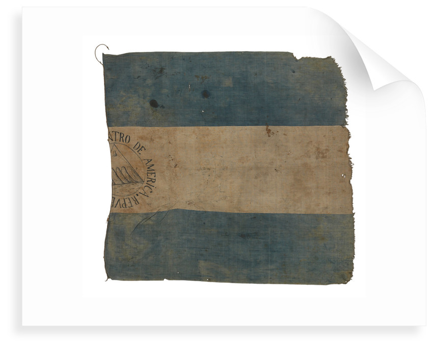 Flag, Federal Republic of Central America by unknown