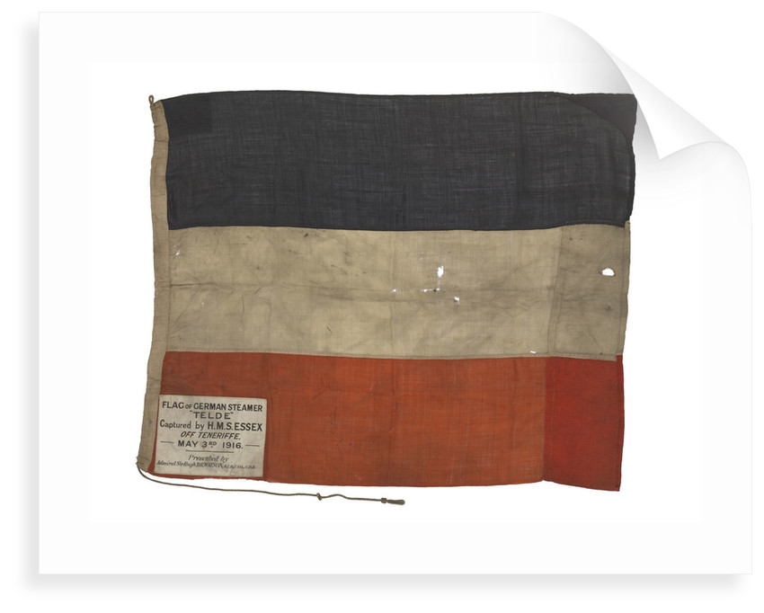 Imperial German merchant ensign (1871-1919) by unknown