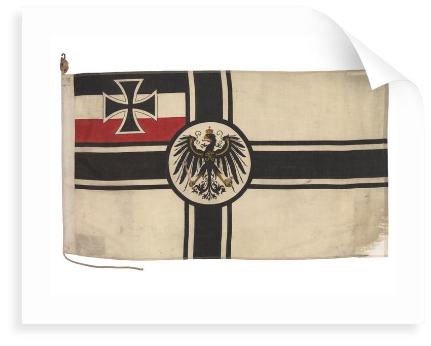 Imperial German naval ensign (1903-1921) by unknown