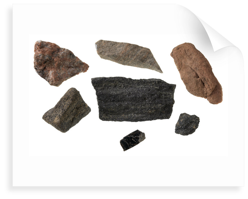 Ore samples from Baffin Island by unknown