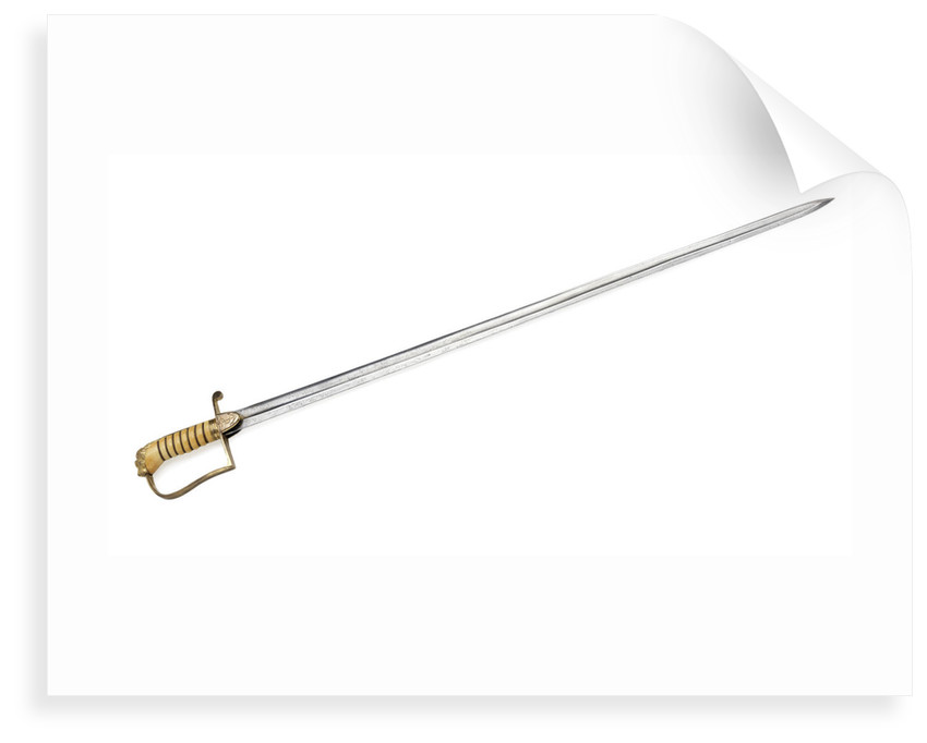 Stirrup hilted sword which belonged to Rear Admiral Sir James Clark Ross (1800-1862) by Drury & Son