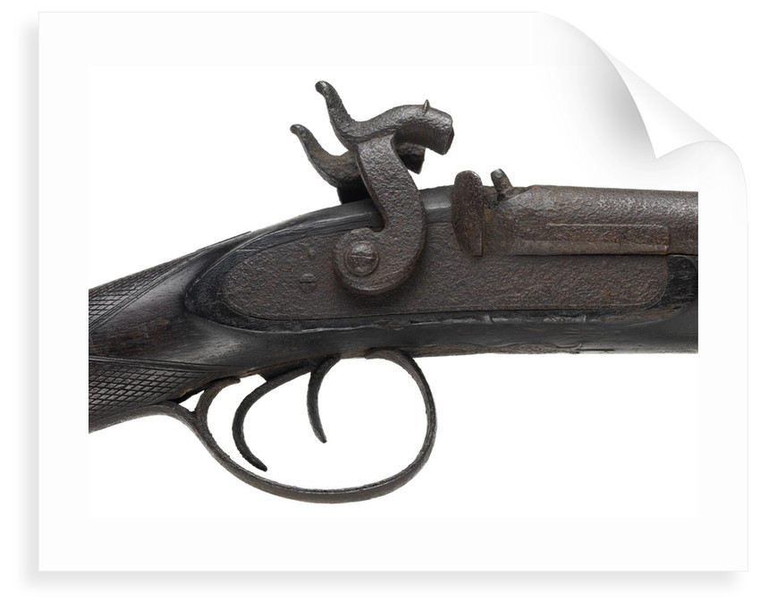 Pair of shotguns taken on the Franklin expedition, 1845-47 by unknown