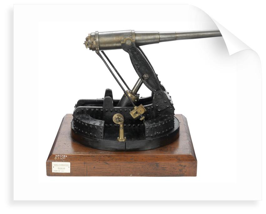Coast defence gun by unknown