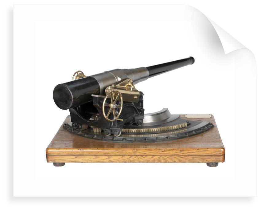 Ordnance model by Sir W. G. Armstrong Whitworth & Co. Ltd