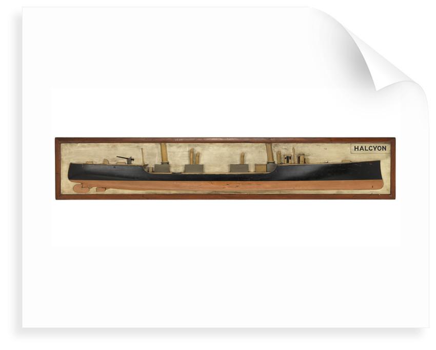 HMS 'Halcyon' (1894) by unknown