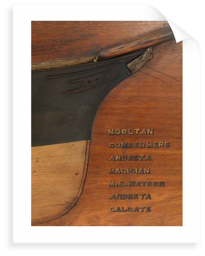 'Andreta' (1880); 'Cambermere' (1880); 'Galgate' (1880); 'M E Watson' (1880); 'Magician' (1880); 'Mooltan' (1880) by unknown