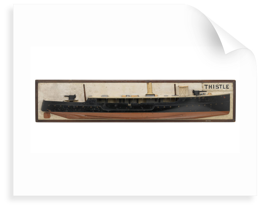 HMS 'Thistle' (1899) by unknown