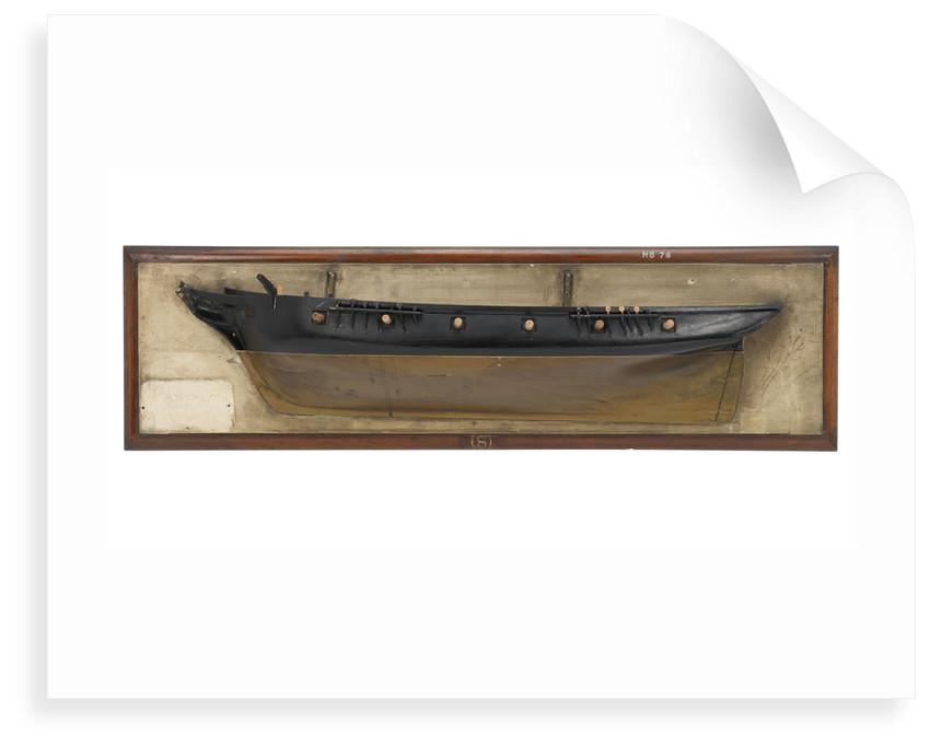 HMS 'Pantaloon' (1831) by unknown