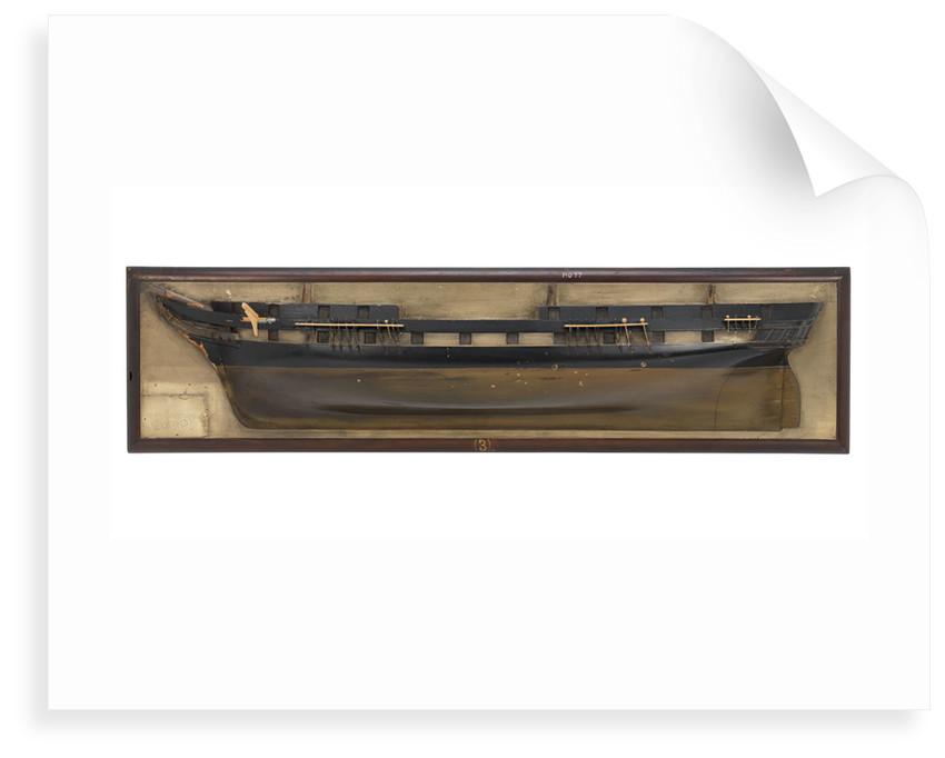 HMS 'Eurydice' (1843) by unknown