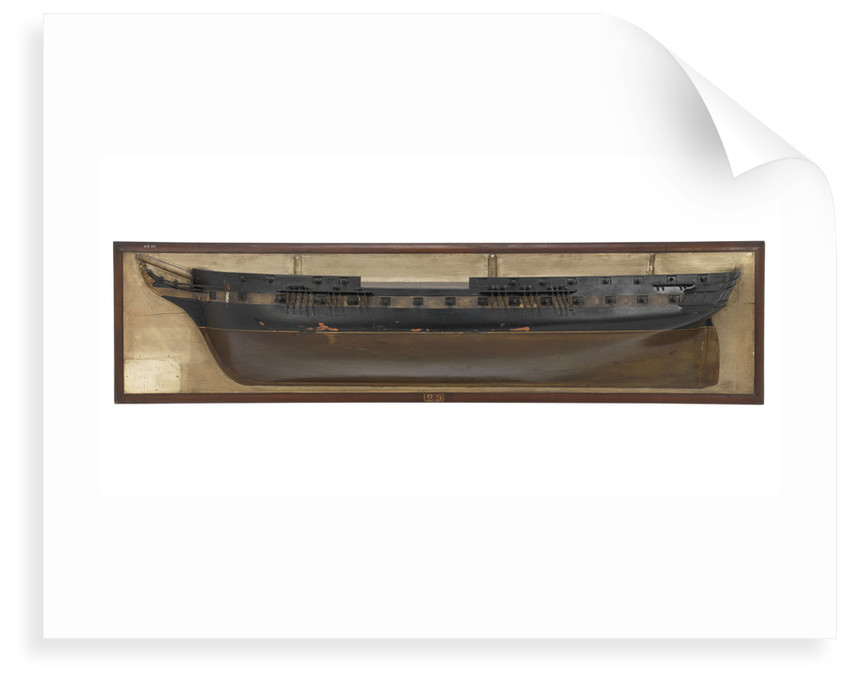 HMS 'Vernon' (1832) by unknown