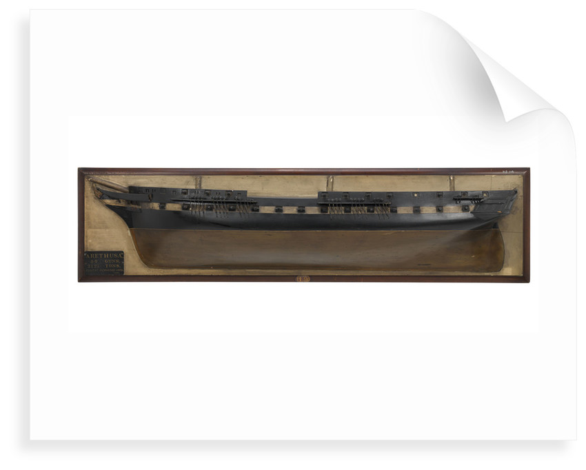 HMS 'Arethusa' (1849) by unknown