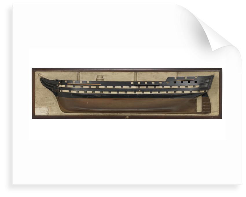 HMS 'Rodney' (1833) by unknown