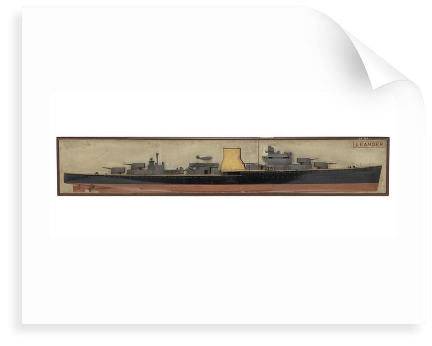 HMS 'Leander' (1931) by unknown
