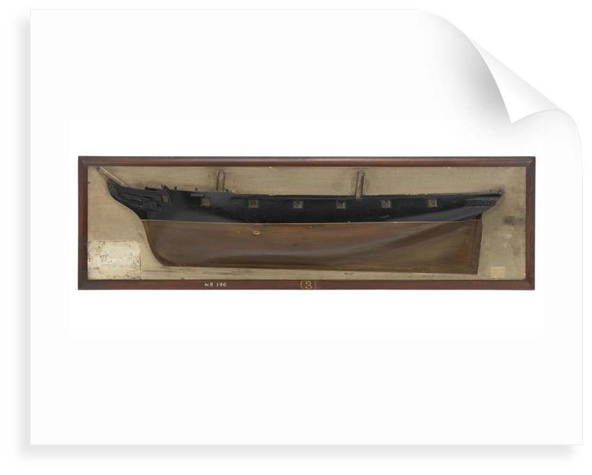 HMS 'Daring' (1844) by unknown