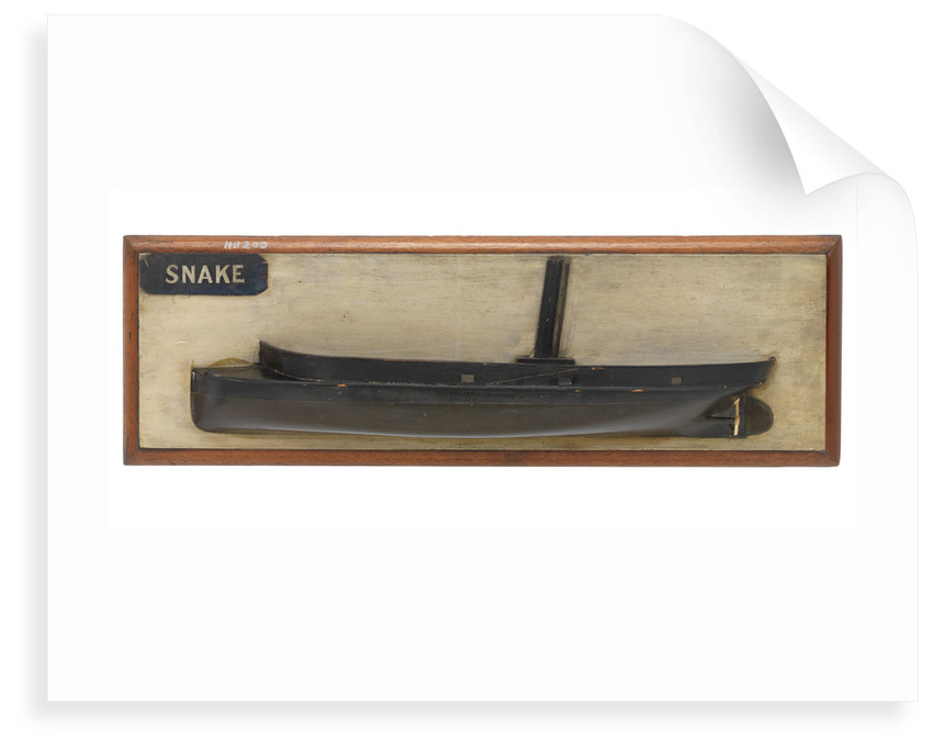 HMS 'Snake' (1871) by unknown