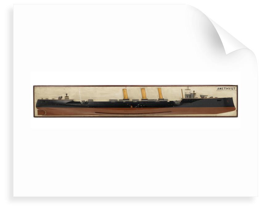 HMS 'Amethyst' (1903) by unknown
