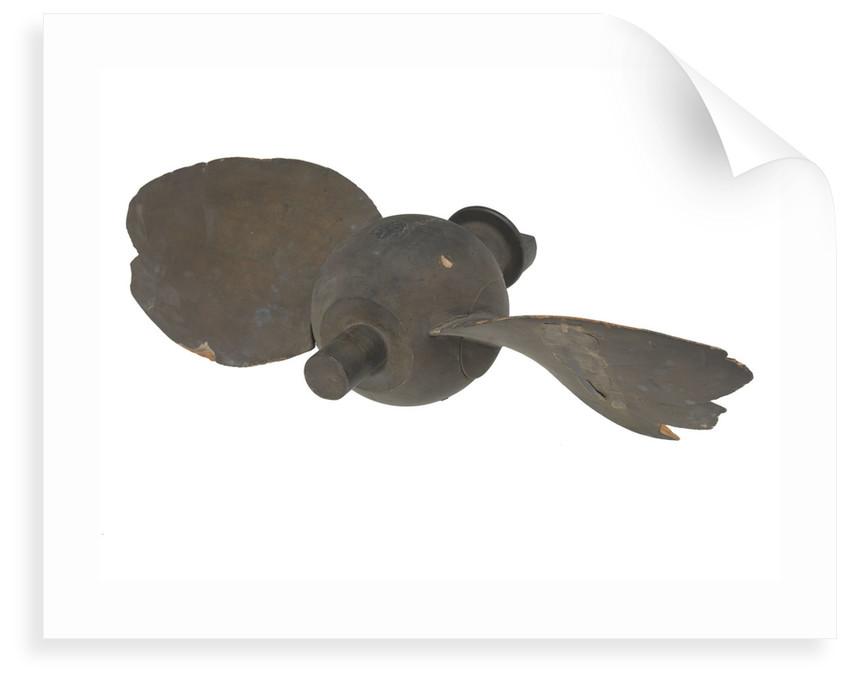 Propeller model by unknown