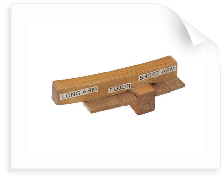 Component model; Frame model by James Lees