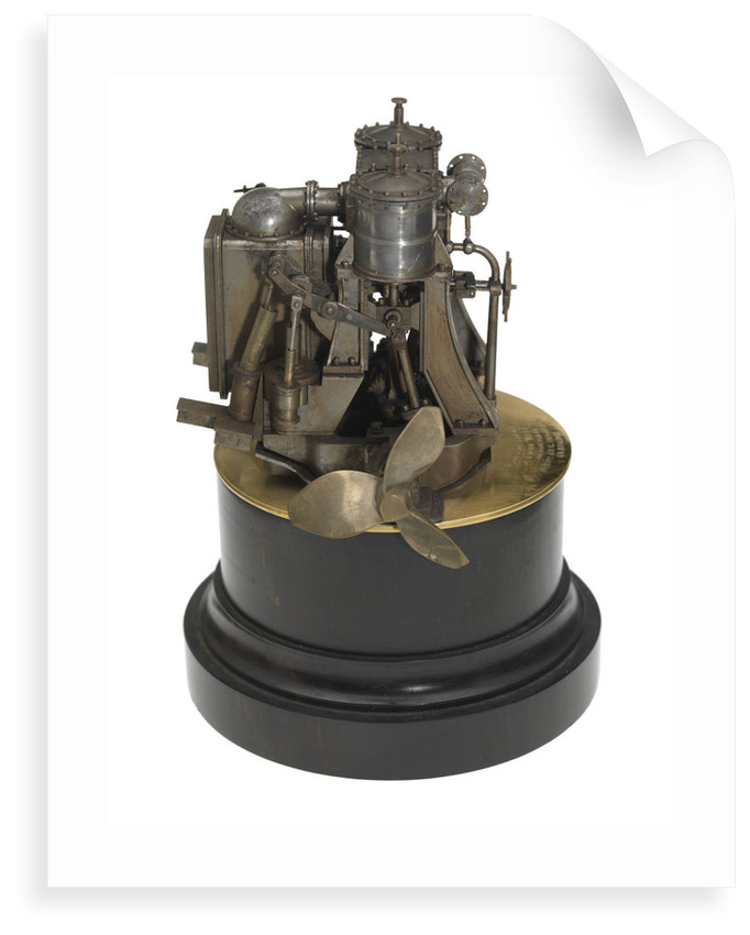 Engine model; Component model by J. & G. Thomson