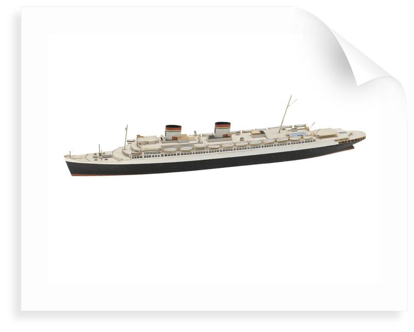 'Rex' (1932); Passenger vessel; Liner by Reginald Carpenter
