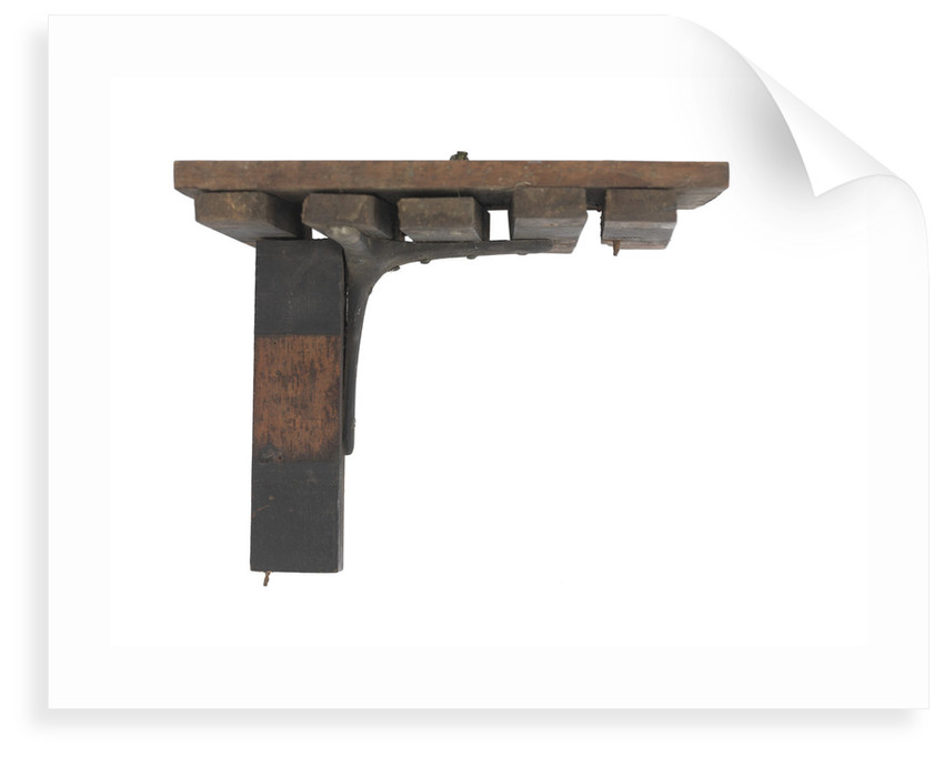 Sectional model; Beam by unknown