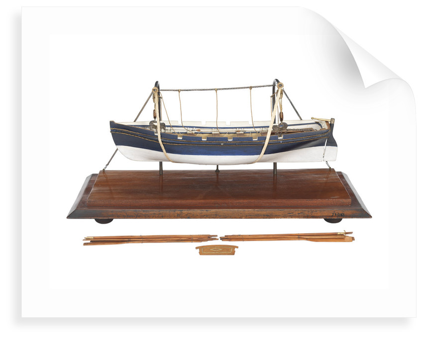 Full hull model by unknown