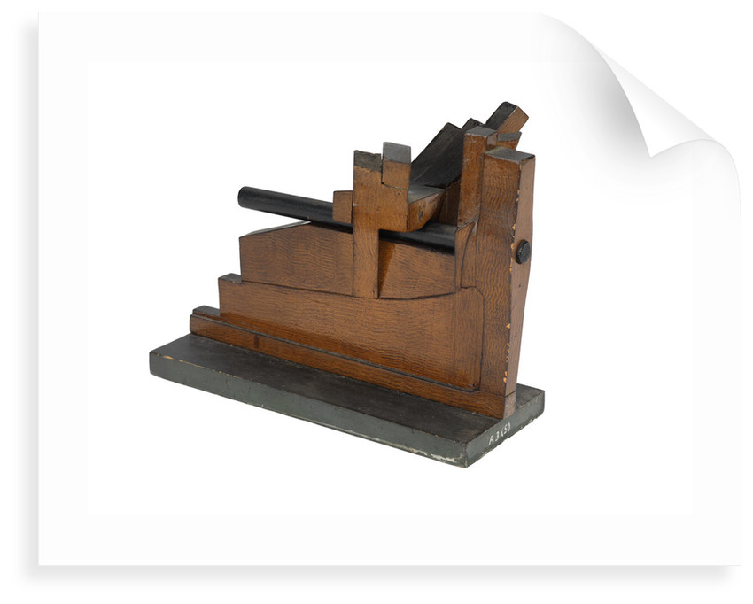 Sectional model; Stern model by unknown