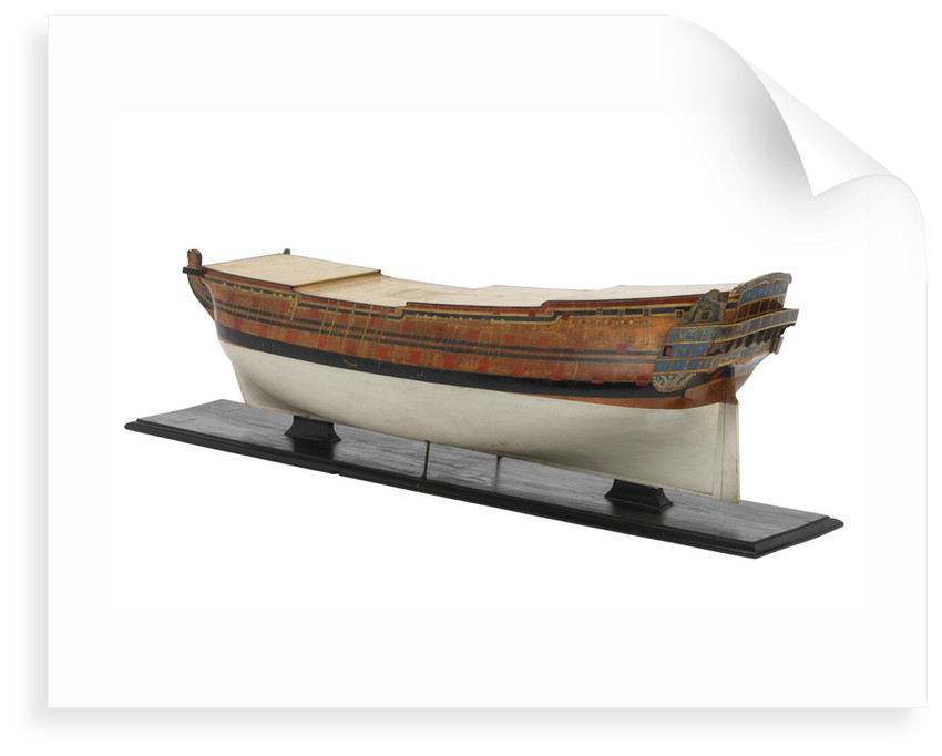 Third rate warship 'Magnanime' (Fr, 1744) 70 guns by unknown
