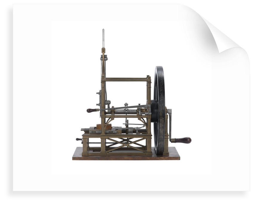 Mortising machine model by Marc Isambard Brunel