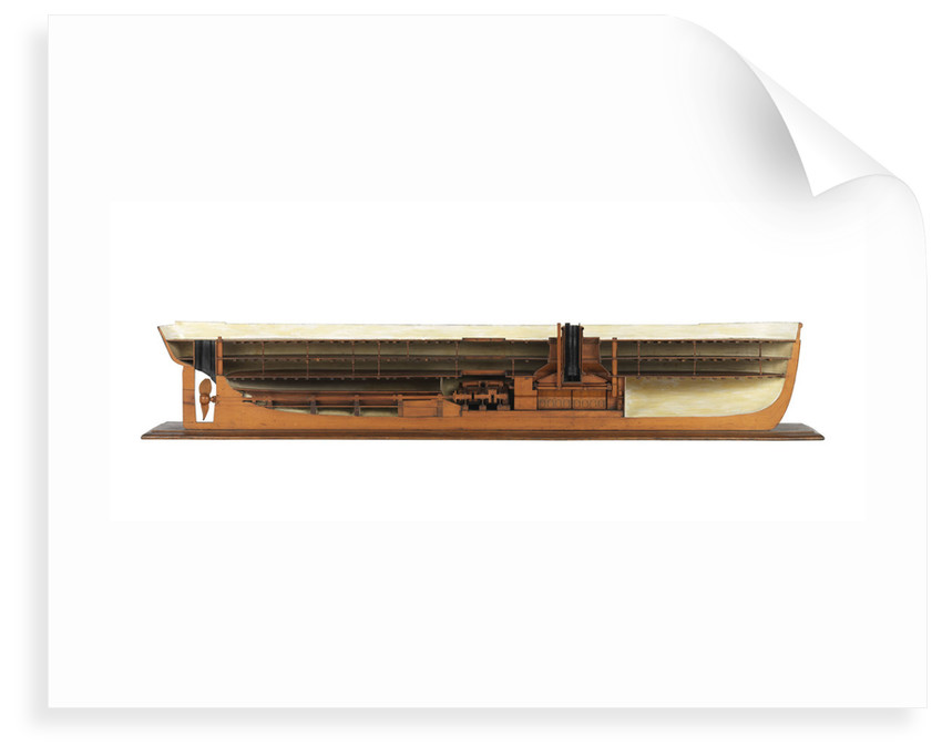 Warship; ironclad by unknown