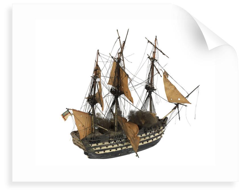 'Neptune'; warship; 98 gun by William Haines