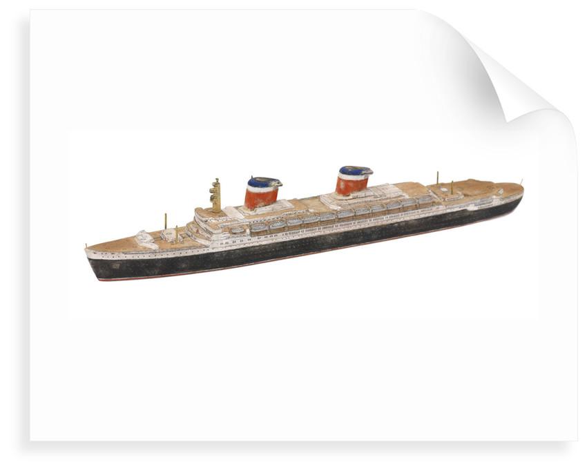 'United States'; Passenger vessel; Liner by Howard Kennard