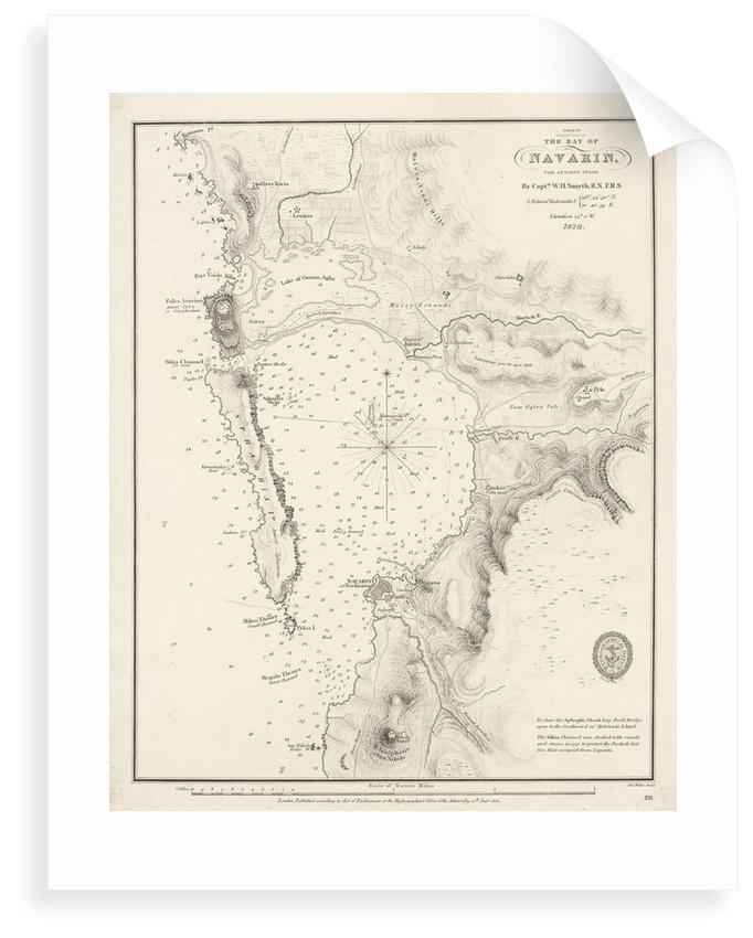 Bay of Navarino by William Henry Smyth