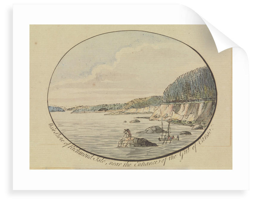 West shore of Richmond Isle by J.F.W. Des Barres