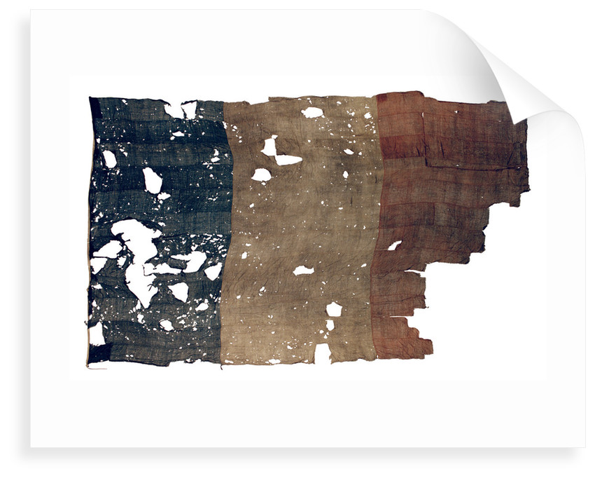 French naval ensign (1794-1814 and after 1830) by unknown