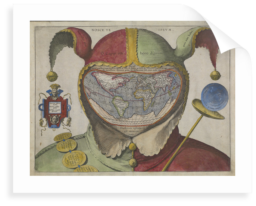 Fool's map of the world by