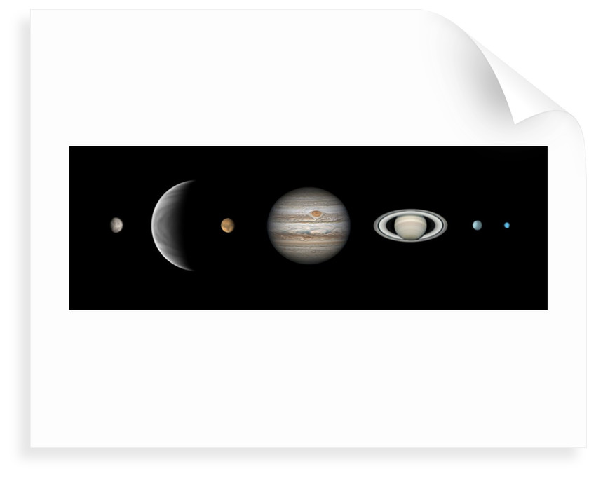Parade of the Planets by Martin Lewis
